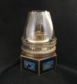 Lampe à opium en émaux cloisonnés #2