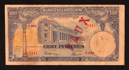Faux Indochine BIC 100 piastres (1940)