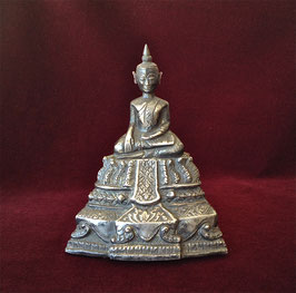 Statuette de Bouddha en argent