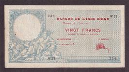 Nouvelle-Calédonie BIC 20 francs 1925