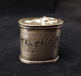 Boîte à opium ajourée en baitong