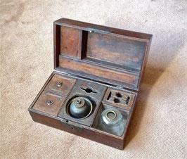 Coffret à opium en bois