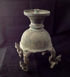 Grande lampe à huile khmère