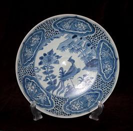 """Assiette """" au Phénix """" de l'épave de Binh Thuan (c. 1608)"""