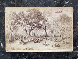 Charles Burton Hoare, Papeete : vue de Tahiti d'après C. Gordon-Cumming (c. 1870)