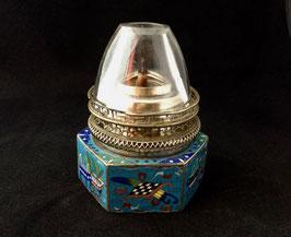 Lampe à opium en émaux cloisonnés #5