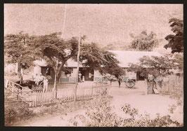 """Charles Nething, Nouméa (attribué à) : """" Hôtel de la Pépinière """" (c. 1900)"""