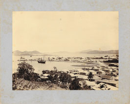 Louis Jourdain, Nouméa : la Baie de la Moselle à Nouméa. (c. 1897)