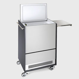 Furniture Cooler Aluminium Groove with Rail and Table