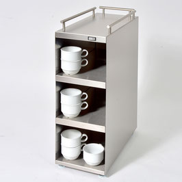 Cup Warmer with Four Heating Levels and Railing