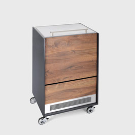 Furniture Cooler Walnut Standard