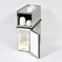 Complete set at a special price: Cup Warmer Top Module Stainless Steel + 5l Milk Cooler Standard + Anti-fall Guard