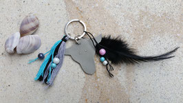 Spring Key ring Happy