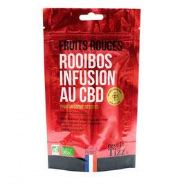 Rooibos bio au CBD Fruits rouges