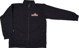 Sweater mit Zipverschluss in Schwarz