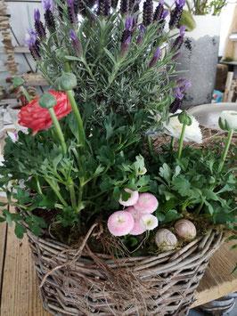 Korb - Blumenschale