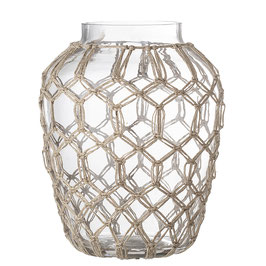 Vase, Clear, Glass