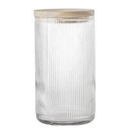 Aufbewahrungsdose aus Glas groß