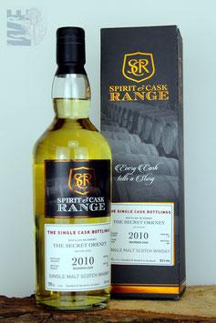 The Secret Orkney, Single Cask, Spirit & Cask Range