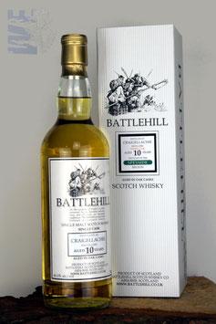 Craigellachie, 10 Jahre, Battlehill by Duncan Taylor, Single Cask