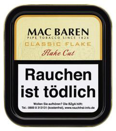 Mac Baren | Classic Flake | 50gr. Dose