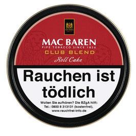 Mac Baren   Club Blend Roll Cake   100gr. Dose