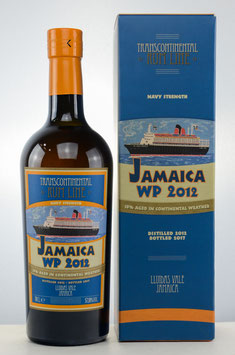 Transcontinental Rum Line | Jamaica Worthy Park 2012 Navy