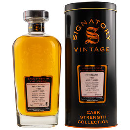 Fettercairn 1997/2020 | Signatory Vintage | Cask Strength