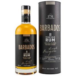 1731 Rum | Barbados 8 Jahre