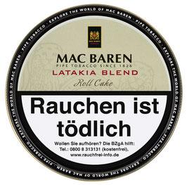 Mac Baren | Latakia Blend Roll Cake | 100gr. Dose