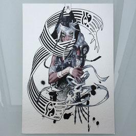 Anubis (3) A4 Print