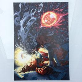 Seth & Horus A4 Print