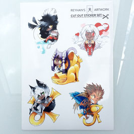 Cut-Out-Sticker Set (3)