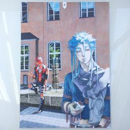 Ddraig & Ao Shun (2)  Print