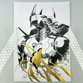 Digimon Original Ink Drawing