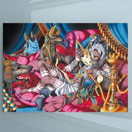 Anubis (1) A4 Print