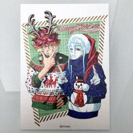 Ddraig & Ao Shun A5 Print