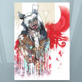 Anubis (2) A4 Print