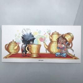 Seth & Horus Teapot Print