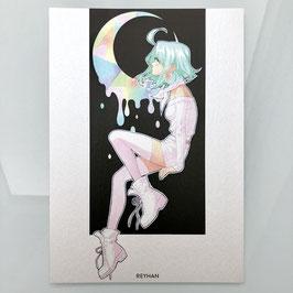 Luna A5 Print