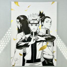 Naruto Original Ink Drawing