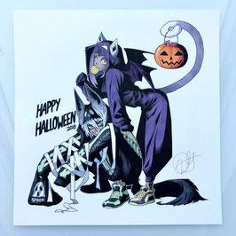 Anubis & Bastet Halloween Original