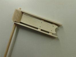 Holzratsche handgefertigt