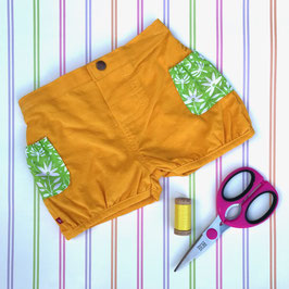 Corduroy Bubble Shorts