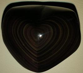 Regenbogenobsidian Herz