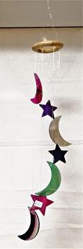 Achat Windspiel Mond Sterne NEU-EINGETROFFEN