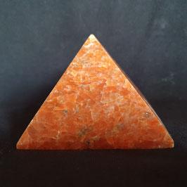 Roter Jaspis Pyramide
