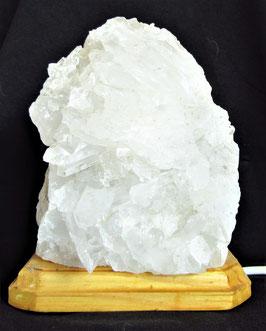 Bergkristall Leuchte