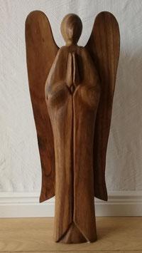 Engel aus Suar Holz groß
