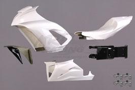 Rennverkleidung KAWASAKI Komplett-Set PREMIUM (ohne Tankhaube)